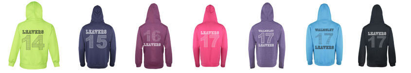 School Leaver Hoodies Bolton
